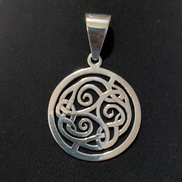Beautiful Retired SILPADA Celtic Knot Pendant